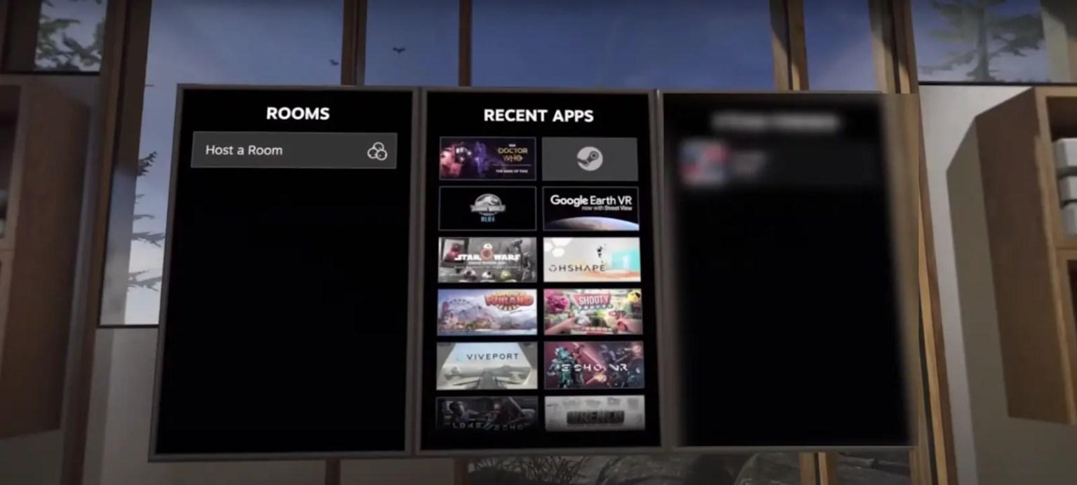Steam VR via Virtual Desktop
