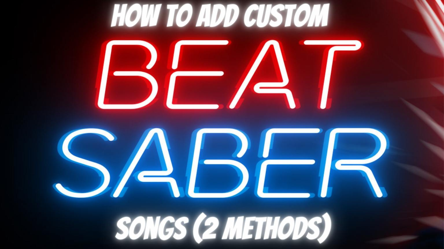 How to install custom beat saber songs