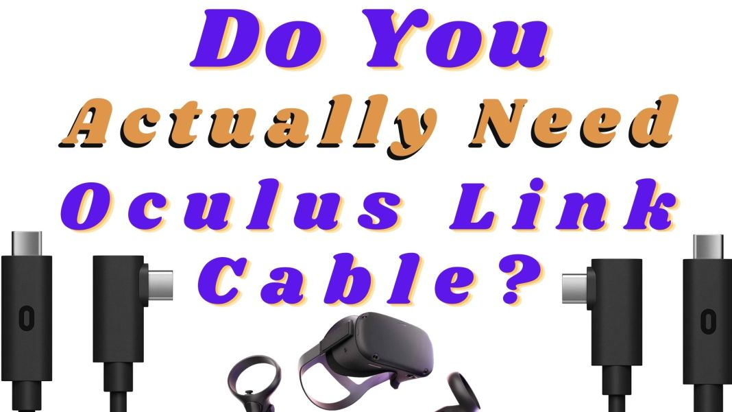 Playing PCVR With Charging Cable V/S Link Cable - The Differences
