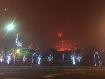 Fire Gatlinburg Tennessee Aquarium