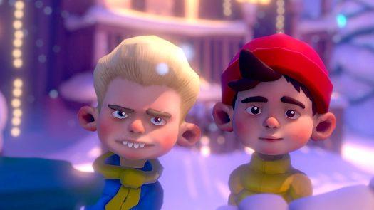 Merry Snowballs VR
