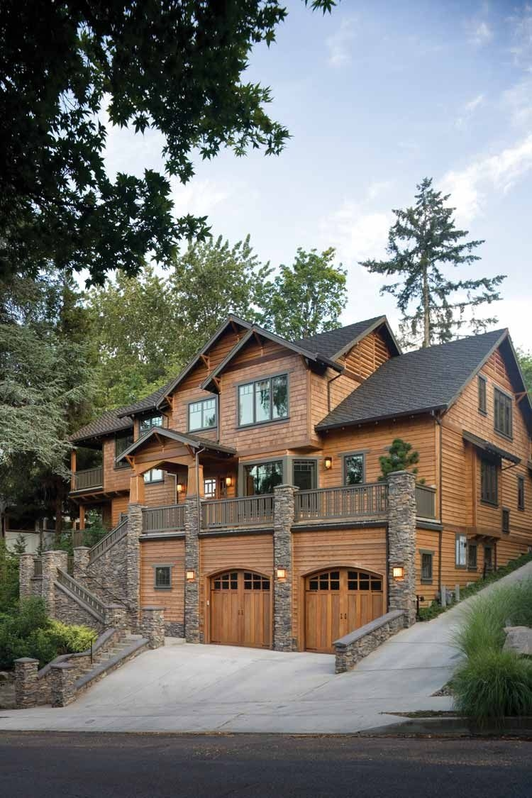 31 New Mountain Home Plans Sloping Lot Luxury Mountains Home Favorite Places & Spaces