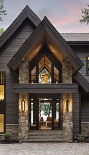 53 Best Rustic Mountain Home Plans Beautiful Rustic Contemporary Lake House with Privileged Views Of Lake