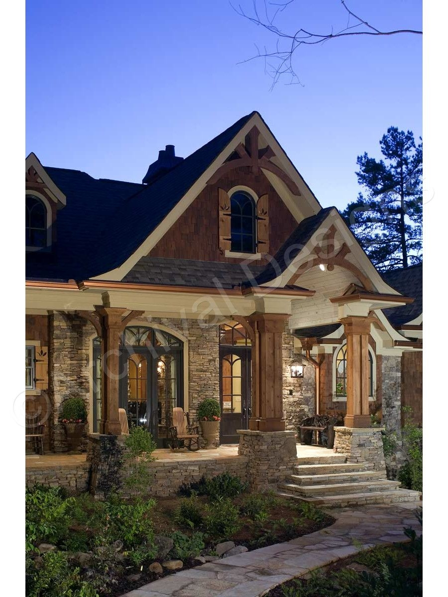 53 Best Rustic Mountain Home Plans Lovely Big Canoe House Plan Big Canoe House Plan Exclusive Front