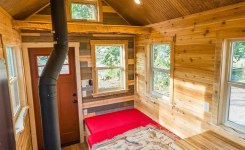 60 small mountain cabin plans with loft new a cabin style tiny house designed for off grid colorado mountain