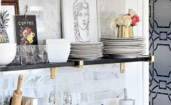 74 ideas strap shelf bracket new swoon worthy open shelf styling via blissathome1 featuring our