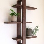 85 Sample Reclaimed Wood Floating Shelves Awesome Modern Wall Shelf solid Walnut for Hanging Plants Books S