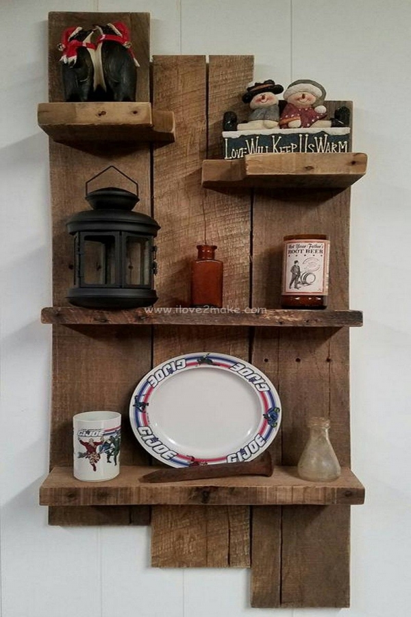 85 Sample Reclaimed Wood Floating Shelves Awesome Pallet Shelf Idea Diy In 2019