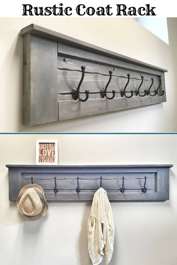 85 Sample Reclaimed Wood Floating Shelves Beautiful Huge Rustic Wooden Entryway Walnut Coat Rack Rustic Wooden Floating