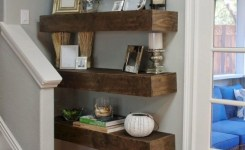 85 sample reclaimed wood floating shelves elegant 70 exciting floating shelves for living room decorating