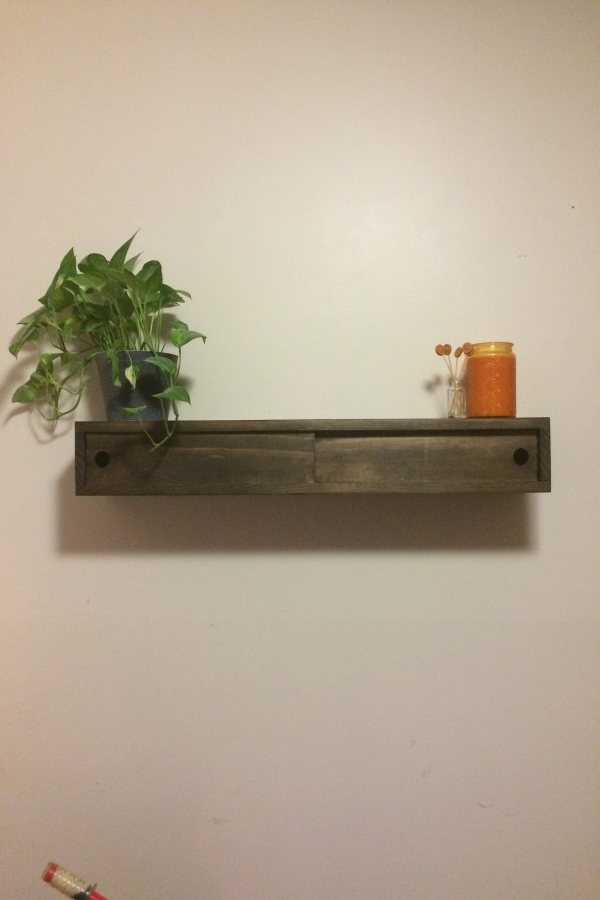 85 Sample Reclaimed Wood Floating Shelves Fresh Floating Shelf with Divider and Sliding Doors Wood Shelf Rustic
