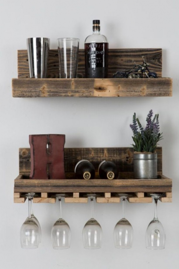 85 Sample Reclaimed Wood Floating Shelves Fresh Pin by Wooden Floating Shelves On Floating Shelves Arrangement