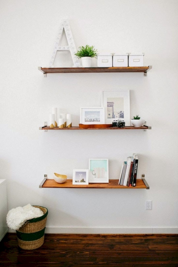85 Sample Reclaimed Wood Floating Shelves Lovely 15 Innovative Diy Wood Wall Shelves that Inspired You