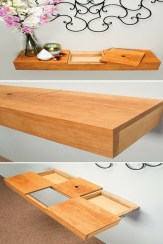 85 Sample Reclaimed Wood Floating Shelves New This Floating Wall Shelf Adds A sophisticated Display Space to Most