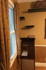 88 Wood Shelves with Metal Brackets Fresh Little Lotus Cat Tree at One End