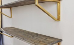 88 wood shelves with metal brackets inspirational diverse diy suspended shelves that add flavor to your décor
