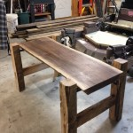 93 Live Edge Coffee Table Inspirational solid Live Edge Farmhouse Style Walnut Slab Coffee Table with Red