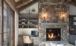 Contemporary mountain home floor plans awesome delightful rustic home in wyoming with a dramatic mountain backdrop