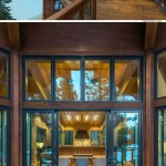 Contemporary Mountain Home Floor Plans Best Of This Modern Mountain House Has An Outdoor Deck Running the Length Of