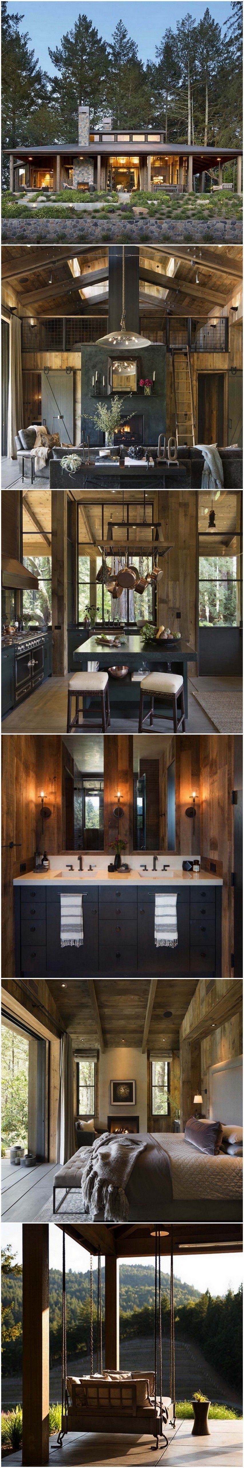 Rustic Mountain House Plans with Walkout Basement Lovely Farmhouse Style Cabin In Napa Valley Everything Log