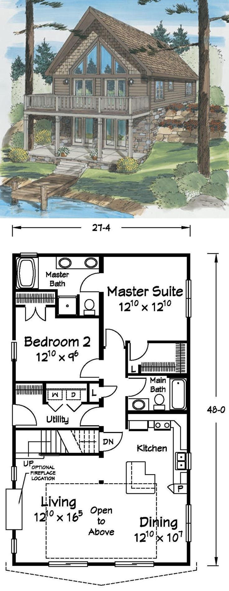 Rustic Mountain House Plans with Walkout Basement Lovely This Cape Chalet is the Perfect Lake Front Home with Spacious Open