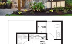 Rustic mountain house plans with walkout basement lovely tiny house plan and elevation storybook style if i wanted to go with
