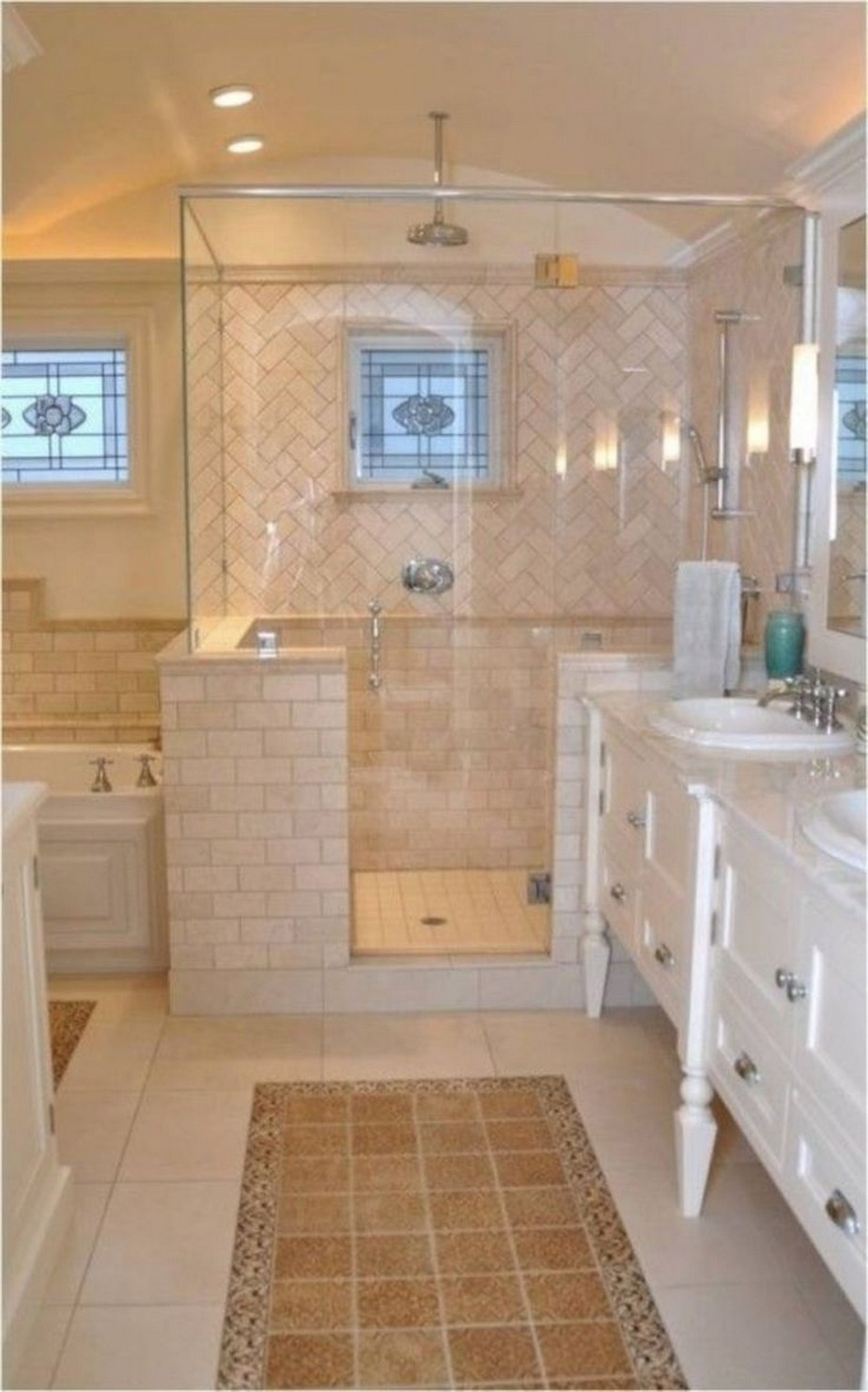 ✔️ 31 awesome small bathroom tile ideas 11