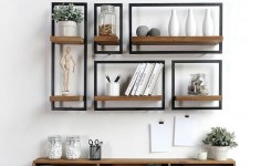 ✔️ 45 wall shelves design ideas how to decorate your home with wall shelves 26