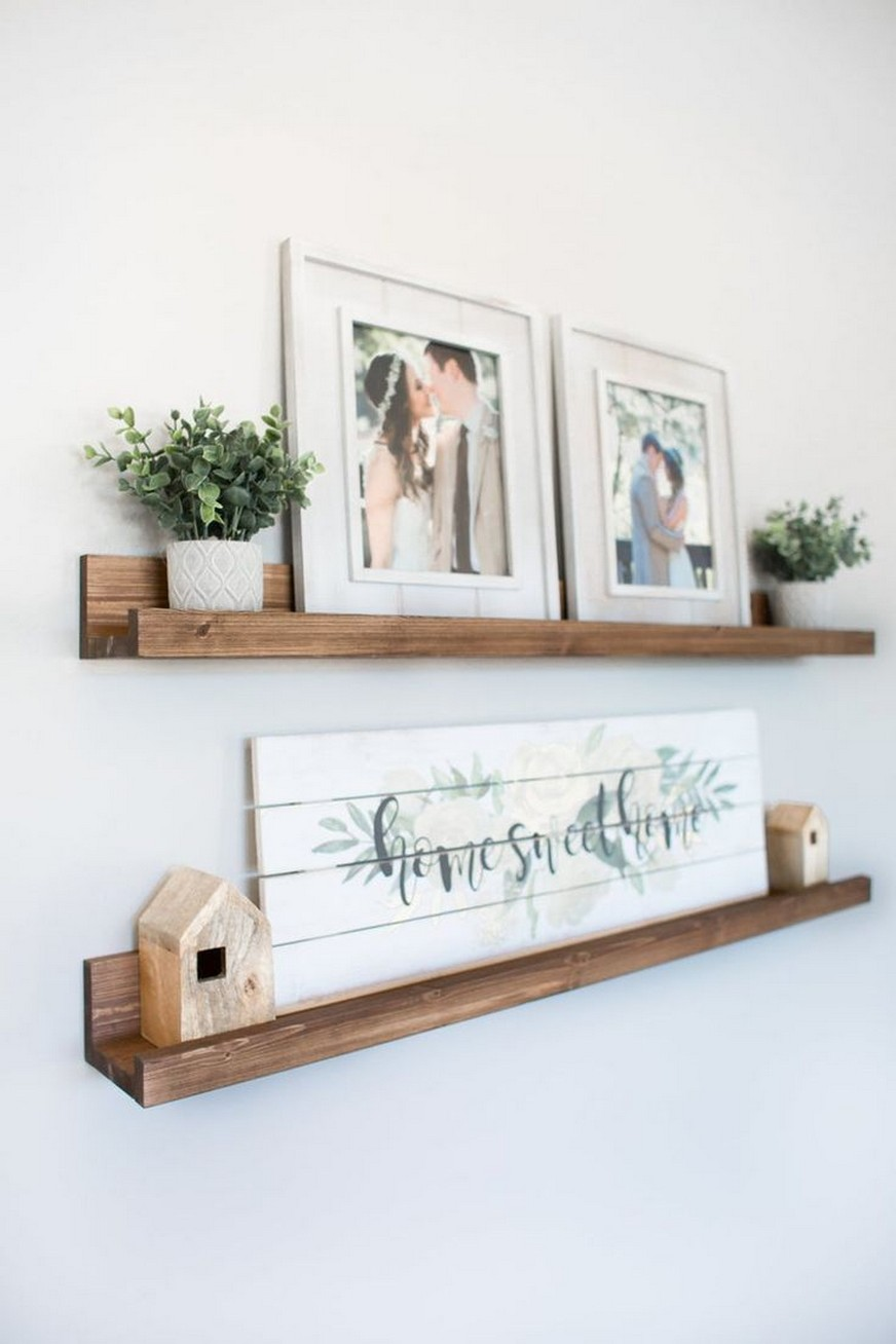 ✔️ 45 wall shelves design ideas how to decorate your home with wall shelves 31