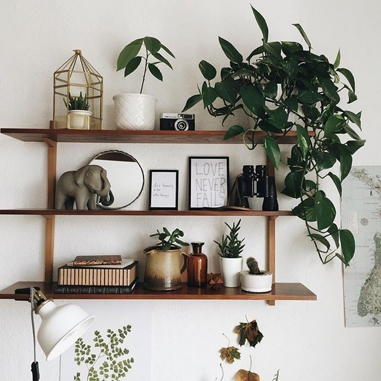 ✔️ 45 wall shelves design ideas how to decorate your home with wall shelves 6