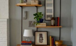 ✔️ 55 wall shelves design ideas show off your precious possessions with floating wall shelves 42