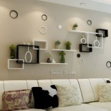 ✔️ 65 wall shelves design ideas the most efficient way to decorate your home 11