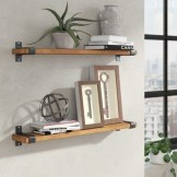 ✔️ 65 wall shelves design ideas the most efficient way to decorate your home 43