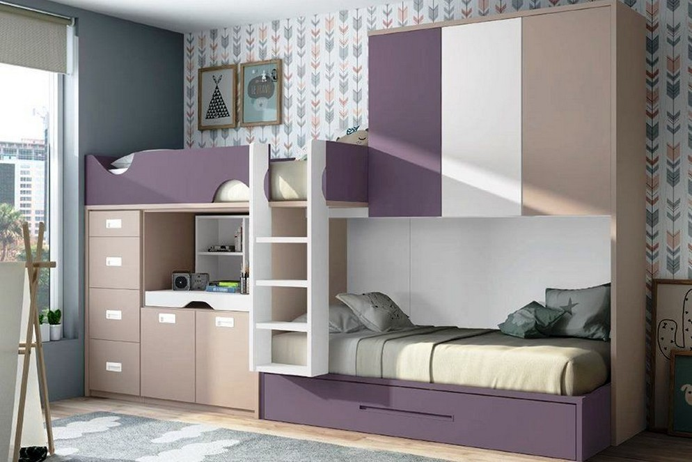 46 Best Choices Of Bunk Beds Design Ideas The Space Saving Solution 41