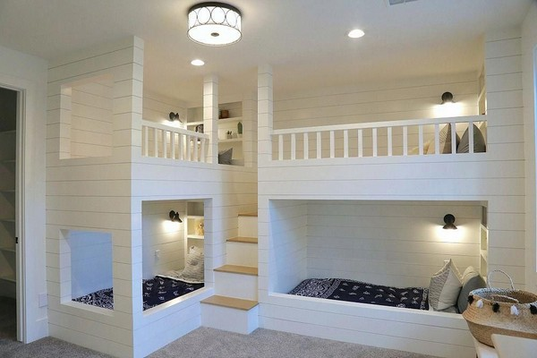 46 Kids Bunk Bed Decoration Ideas & Safety Tips 19