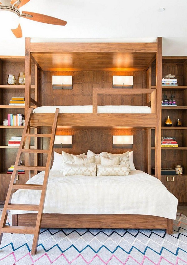 46 Kids Bunk Bed Decoration Ideas & Safety Tips 7