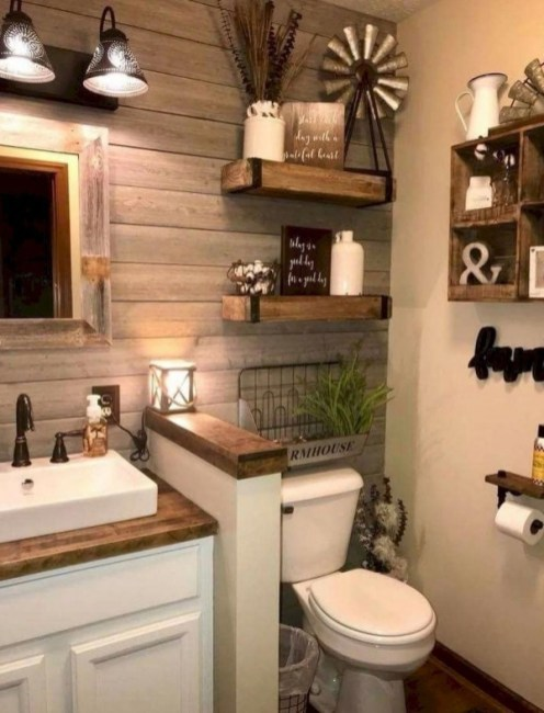 70 Kinds Of Farmhouse Bathroom Accessories Ideas- 5 Must Have Bathroom Accessories-5842