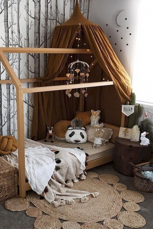 85 Awesome Bedroom Boy and Girl Decorating Ideas-3928
