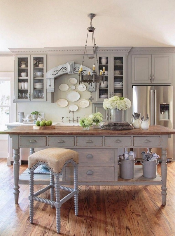 90 Rural Kitchen Ideas for Small Kitchens Look Luxurious 6217