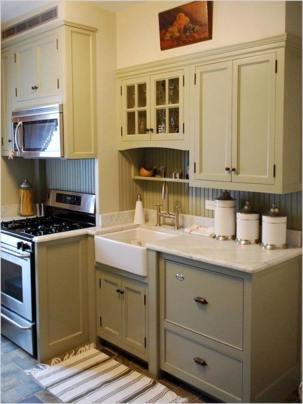 90 Rural Kitchen Ideas for Small Kitchens Look Luxurious 6239
