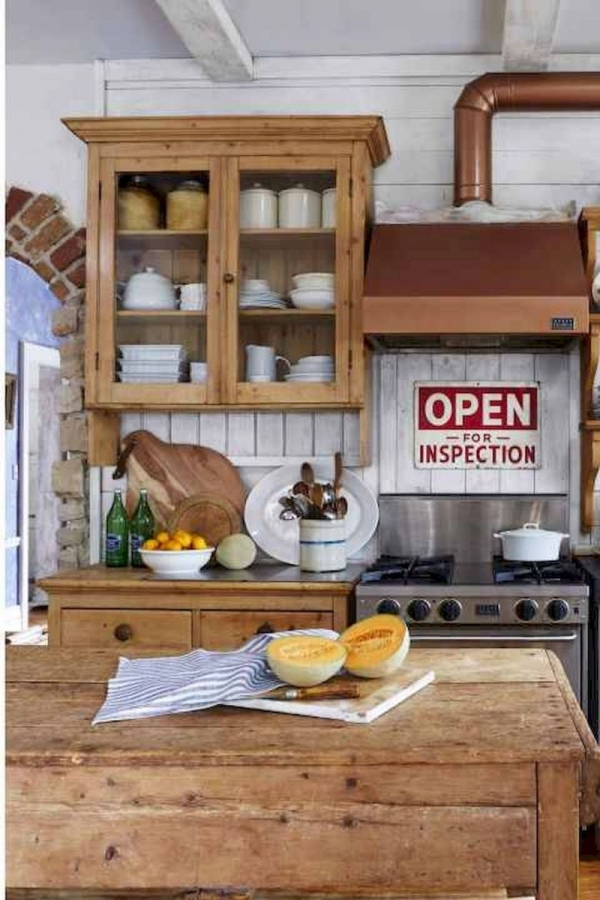 90 Rural Kitchen Ideas for Small Kitchens Look Luxurious 6248