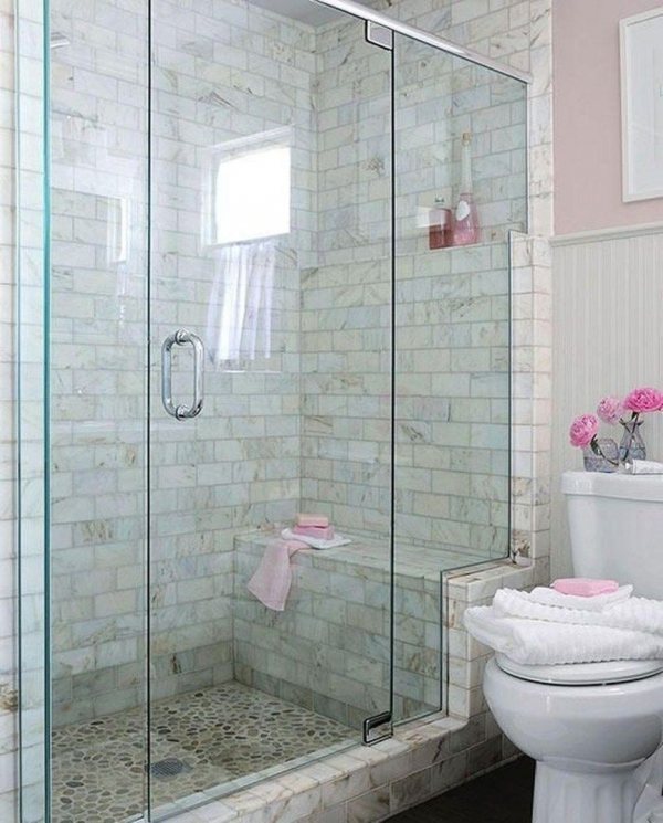 95 Beautiful Walk In Shower Ideas for Small Bathrooms 5648