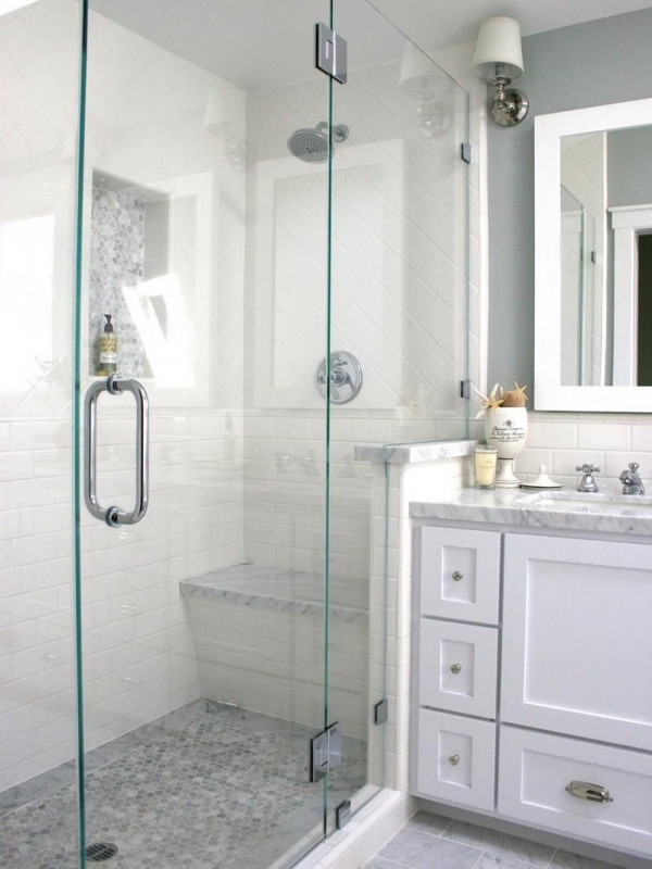 95 Beautiful Walk In Shower Ideas for Small Bathrooms 5673