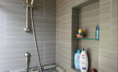 Walk In Shower Ideas Gray