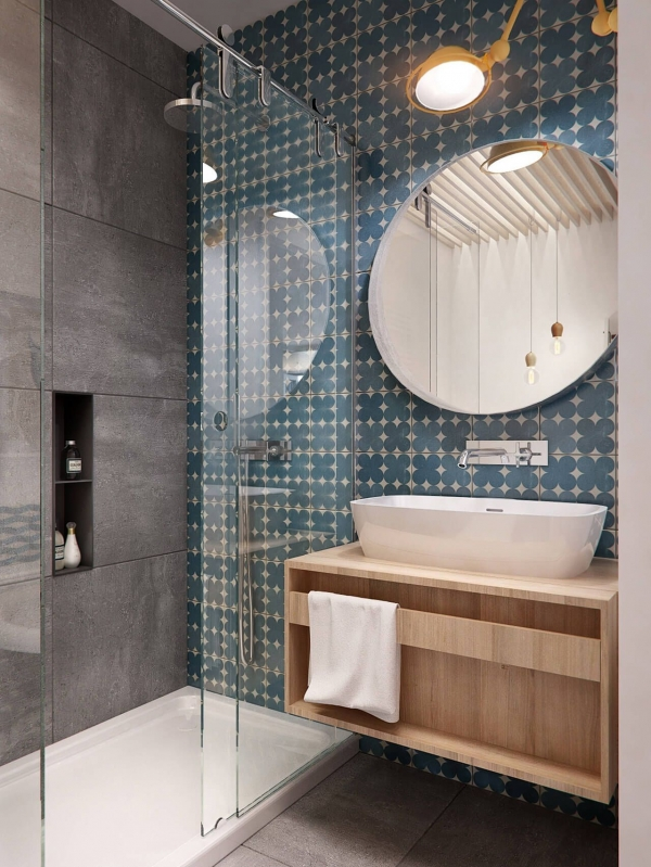 95 Beautiful Walk In Shower Ideas for Small Bathrooms 5710