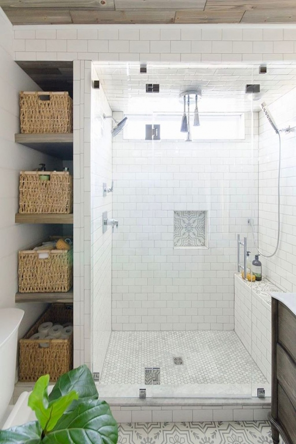 99 Beautiful Bathroom Shower Decoration - Look at them-3603