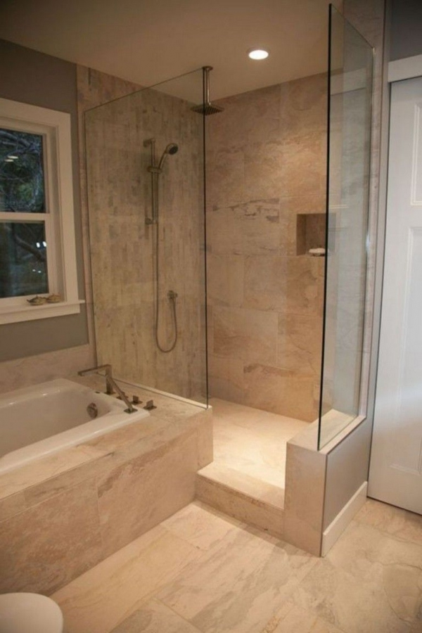 99 Beautiful Bathroom Shower Decoration - Look at them-3605