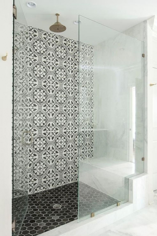 99 Beautiful Bathroom Shower Decoration - Look at them-3622