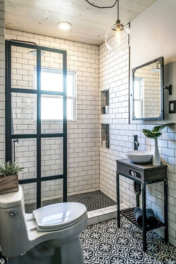 99 Beautiful Bathroom Shower Decoration - Look at them-3631