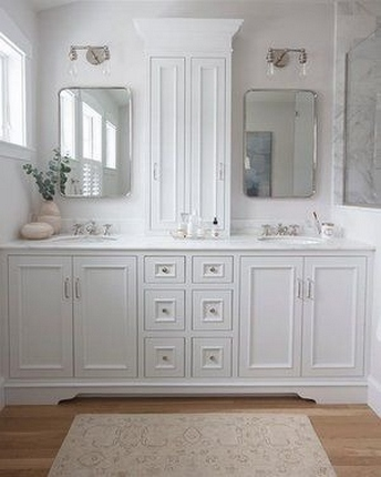 49 Small Bathroom Storage Decoation Ideas Here's How To Get All The Space You Need 24